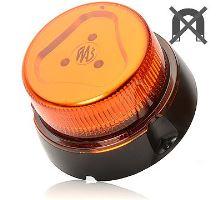 Maják oranžový kryt, 1 mod, W126, kabel 3m
