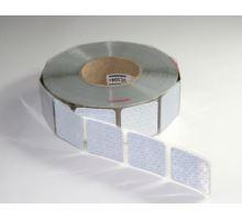 Reflexní páska segment. bílá na plachtu, 50m